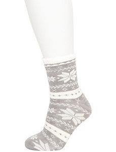 Fair isle cozy socks