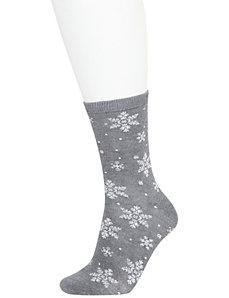 Nordic snowflake socks 2-pack