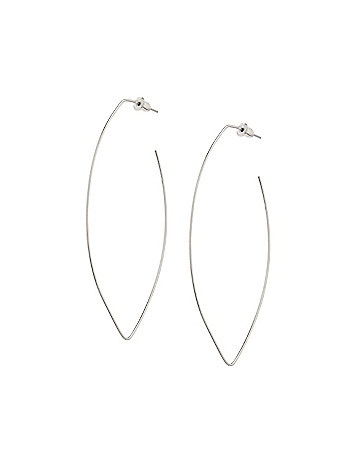 Oval wire earrings by Lane Bryant