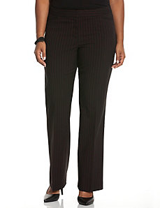 Straight fit pinstripe trouser