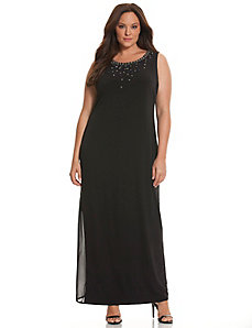 6th & Lane embellished maxi dress