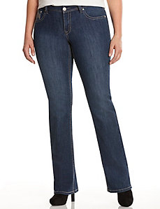 Genius Fit™ straight fit bootcut jean