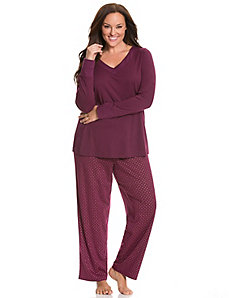 Foil dot PJ set