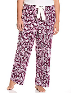 Snow medallion sleep pant