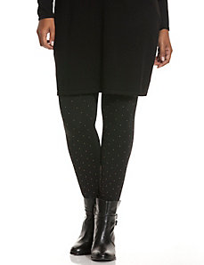 Studded control top legging