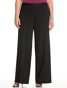 6th & Lane ponte wide leg pant