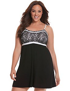 Tru to You lace bodice chemise