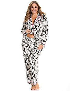 Penguin button-down PJ set