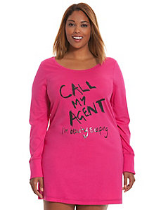 Call my Agent sleep shirt