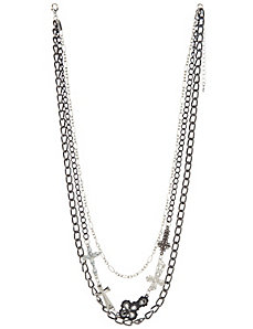 Chain & cross necklace