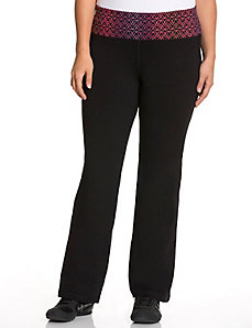 Signature Stretch logo yoga pant