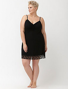 Tru to You lace hem chemise
