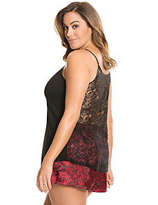 Tru to You lace back PJ set