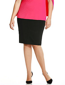 6th & Lane fold-over pencil skirt