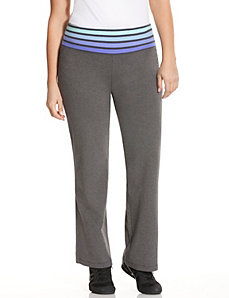 Signature Stretch ombre stripe yoga pant