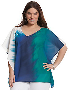 Abstract wave drama top