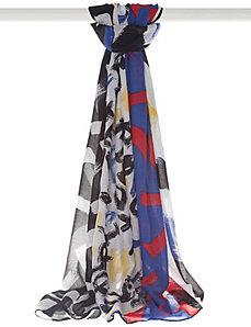 Brushstroke scarf