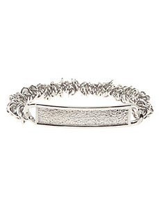 Dusted ID stretch bracelet
