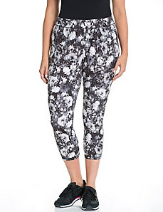 Signature Stretch floral capri legging