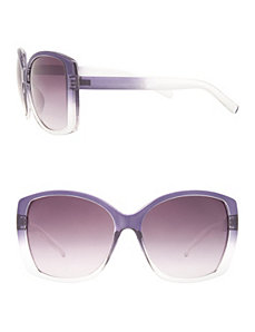 Ombre square frame sunglasses