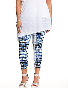 Printed crop legging by Lysse