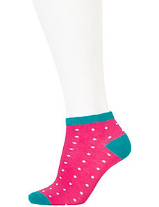 Polka dot sport sock 3-pack