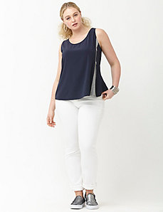 6th & Lane zipper tank
