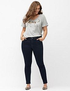 Knit skinny jean