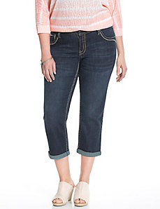 Genius Fit™ flap pocket capri