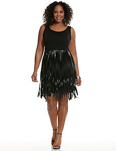 Fringed party dress