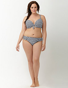 Aztec low rise swim hipster