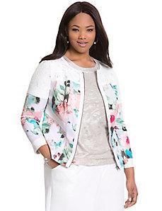 Floral jacket by MODAMIX