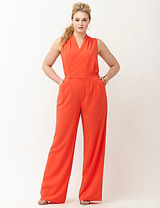 6th & Lane surplice jumpsuit