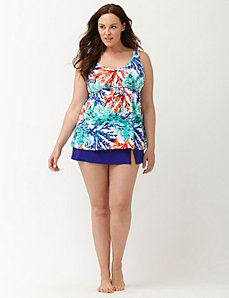 Coral Gardens swim tank with built in no wire bra