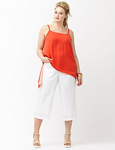 6th & Lane wide leg crop