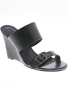 Stella leather wedge sandal