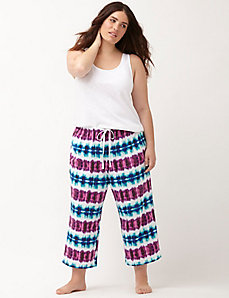 cropped sleep pant