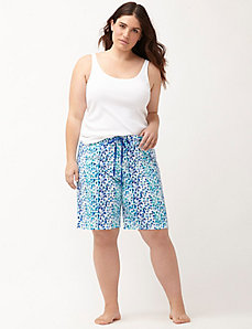 Printed Bermuda sleep short