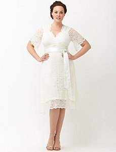 Lace Confection wedding dress by Kiyonna
