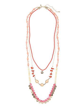 Plus size necklace convertible set