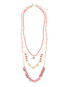 3 in 1 bead necklace