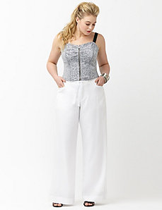 6th & Lane wide leg pant