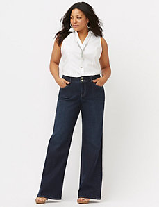 Trouser jean with Tighter Tummy Technology