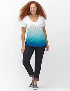 Beach Sleep Repeat tee