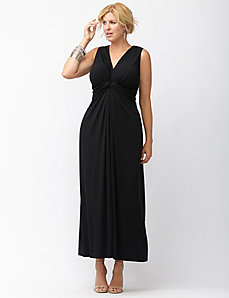 Simply Chic twist front maxi dress