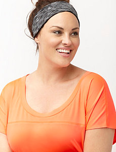 Space dye wicking headband