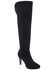 Zarah suede over-the-knee boot