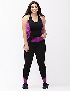 Signature Stretch space dye active legging