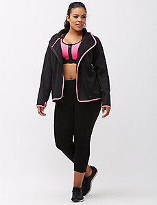 fleece lined active jacket