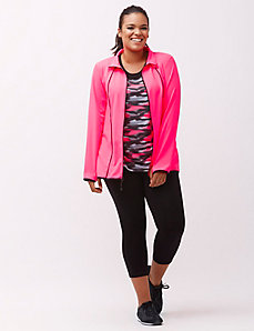 Combat Cancer TruDry wicking active jacket